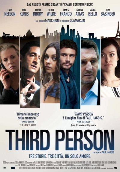 Love Film Festival - Locandina di Third person